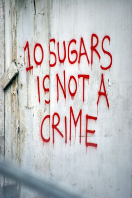 10 sugars is not a crime