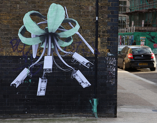 Ludo Natures Revenge CCTV paste up