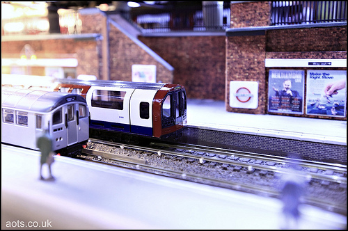 Abbey Road, London Underground Model railway