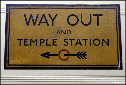 Way Out - Temple Station