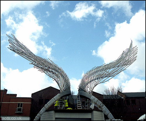 Angel Sculpture Islington