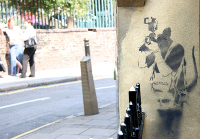 Banksy photo prints