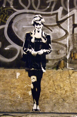 Blek Le Rat Lady Diana