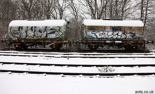 graffiti wagons