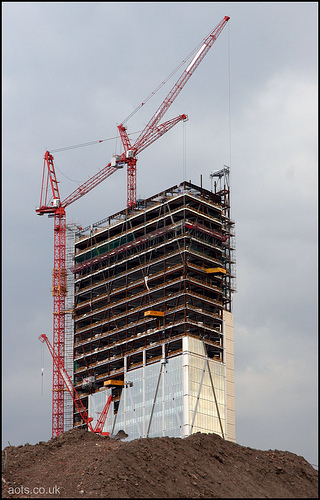 Broadgate Tower Construction