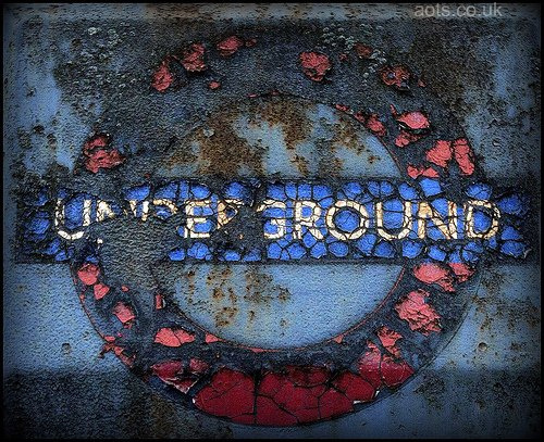 Decayed Underground sign