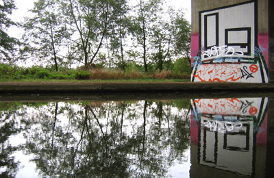 D*Face, Canal reflection, Addlestone