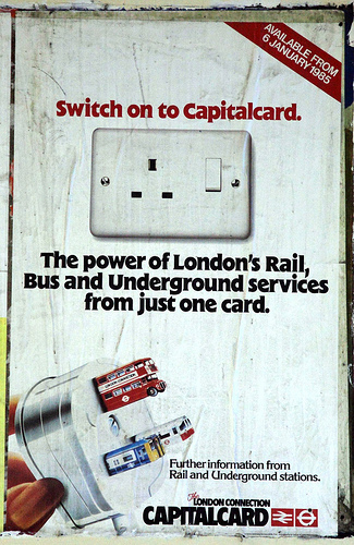 British Rail Poster - Capitalcard