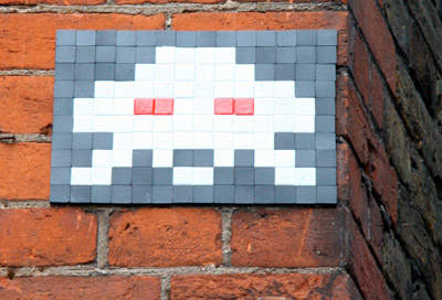 Space Invader Mosaic
