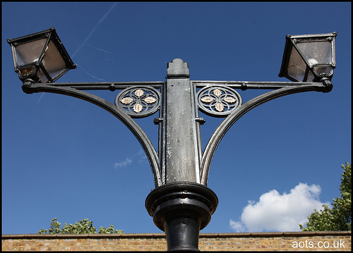 Staines West lamps