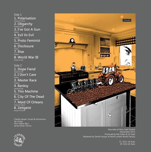 UK Subs Ziezo album